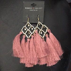 New Romeo & Juliet Chandelier Earrings w Tassels